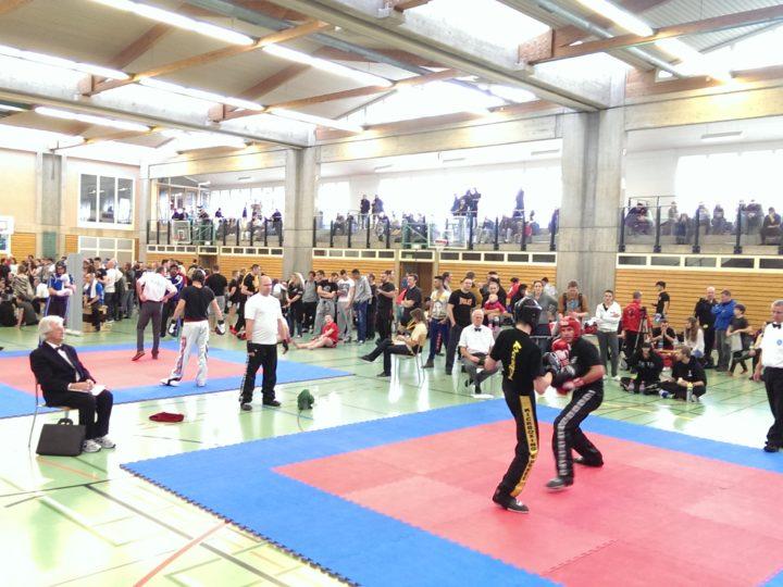 Sanitätsdienst Kickboxingturnier Reinach