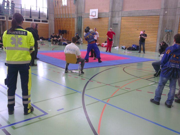 Sanitätsdienst Kickboxingturnier 2015 Reinach