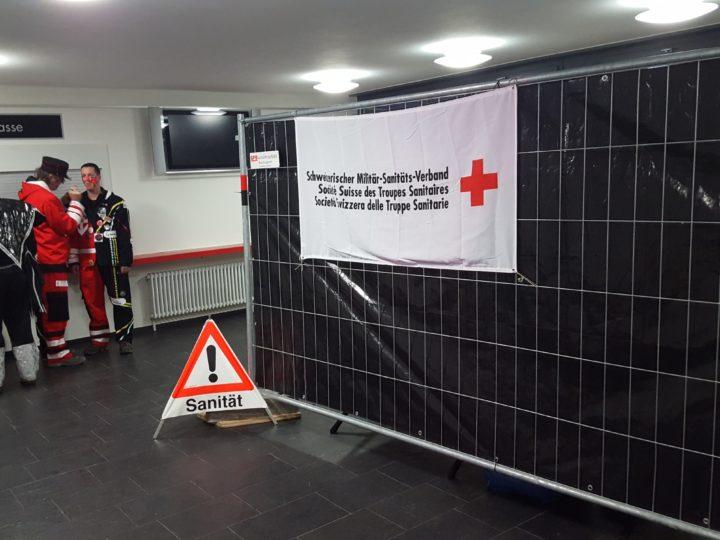 Sanitätsdienst Schnäggeball Reinach